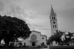 Mother Church of Itararé royalty free stock photos