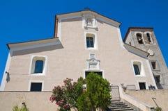 Mother Church of Morano Calabro. Calabria. Italy. Stock Images