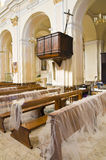 Mother Church of Oriolo. Calabria. Italy. Royalty Free Stock Photo