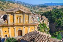 Mother Church of Oriolo. Calabria. Italy. Stock Photo