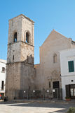 Mother Church of Polignano a mare. Puglia. Italy. Stock Images