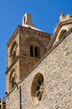 Mother Church of Rocca Imperiale. Calabria. Italy. Stock Image