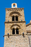 Mother Church of Rocca Imperiale. Calabria. Italy. Royalty Free Stock Photography
