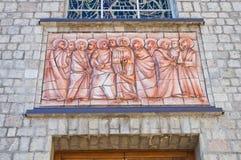 Mother Church of Satriano di Lucania. Italy. Stock Photography