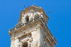 Mother Church of SS Assumption. Sternatia. Puglia. Italy. Royalty Free Stock Photography