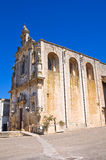 Mother Church of St. Luca. Palmariggi. Puglia. Italy. Royalty Free Stock Photography