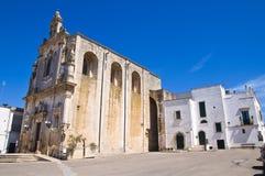Mother Church of St. Luca. Palmariggi. Puglia. Italy. Stock Photography