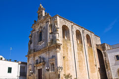 Mother Church of St. Luca. Palmariggi. Puglia. Italy. Stock Images