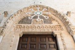 Mother church of St. Nicola. Rutigliano. Puglia. Italy. Stock Photos