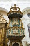 Mother Church of St. Pietro. Putignano. Puglia. Italy. Stock Image