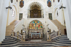 Mother Church of St. Pietro. Putignano. Puglia. Italy. Royalty Free Stock Photo