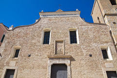 Mother Church of Torremaggiore. Puglia. Italy. Stock Photography