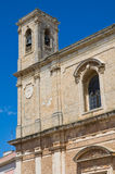Mother church of Transfiguration. Taurisano. Puglia. Italy. Royalty Free Stock Image