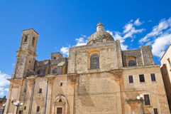 Mother church of Transfiguration. Taurisano. Puglia. Italy. Royalty Free Stock Images