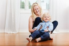 Mother with cute child Stock Photography