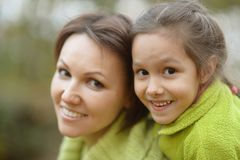 Mother with  daughte Royalty Free Stock Photos