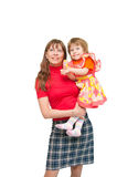 Mother and the daughter Royalty Free Stock Photo