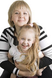 Mother and daughter. Royalty Free Stock Images