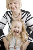 Mother and daughter. Stock Photo