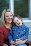 Mother and Daughter Royalty Free Stock Photography