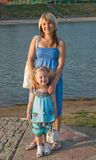 Mother with daughter Royalty Free Stock Photos
