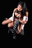 Mother and daughter. Royalty Free Stock Photos