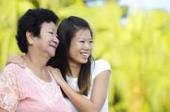 Mother & Daughter Stock Photos