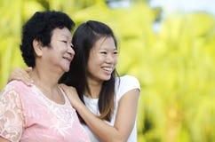 Mother & Daughter Stock Photos