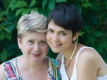 Mother and daughter Royalty Free Stock Photo