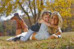 Mother Daughter Royalty Free Stock Photography
