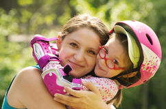Mother and daughter Stock Photography