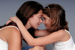 Mother Daughter Stock Image