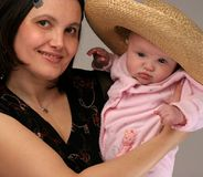 Mother and daughter. Have fun Royalty Free Stock Images