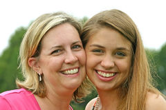 Mother Daughter Royalty Free Stock Image