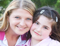 Mother Daughter Stock Photo
