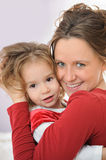 Mother with the daughter Royalty Free Stock Photography