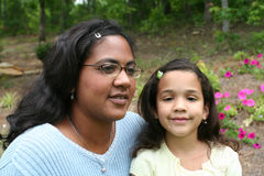 Mother and Daughter. A mother with her child Stock Photography