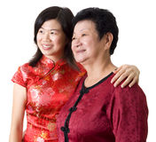 Mother & Daughter Stock Image
