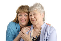 Mother Daughter Affection Royalty Free Stock Photography