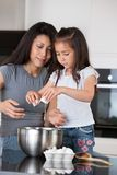 Mother and Daughter Baking Royalty Free Stock Photography