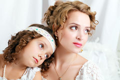 Mother and the daughter Royalty Free Stock Image