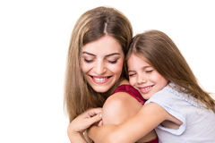 Mother and daughter Stock Photos