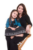 Mother and daughter bonding Stock Photography