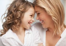 Mother and daughter Stock Images