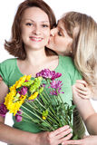 Mother and daughter celebrating mother's day Royalty Free Stock Image