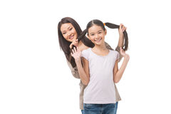 Mother and daughter. Stock Photos