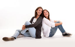 Mother and daughter connection Royalty Free Stock Photos