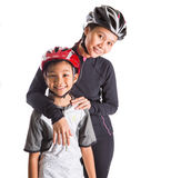 Mother and Daughter Cycling Attire III Royalty Free Stock Photo