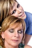 Mother and Daughter enjoy Royalty Free Stock Photography