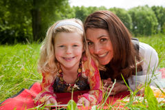 Mother and daughter fun Stock Photography